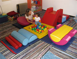 ג'ימבוקס על ארבע - תרגילים לגילאי 6-12 חודשים